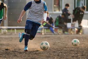 サッカー フットボールの写真素材 [FYI03056043]
