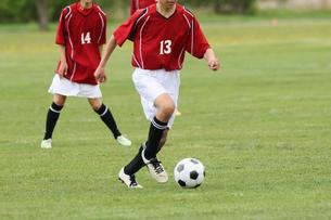 サッカー フットボールの写真素材 [FYI03056069]