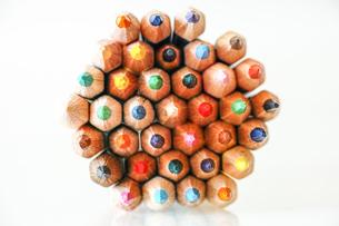 色鉛筆の写真素材 [FYI03056082]