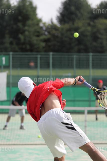 テニスの写真素材 [FYI03056086]