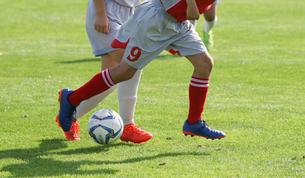 サッカー フットボールの写真素材 [FYI03056113]