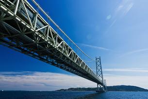 橋と青空の写真素材 [FYI03056299]