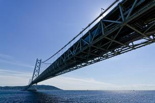 橋と青空の写真素材 [FYI03056353]