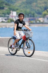 サイクリングの写真素材 [FYI03056447]
