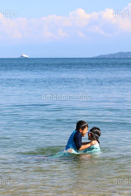 海水浴の写真素材 [FYI03056557]