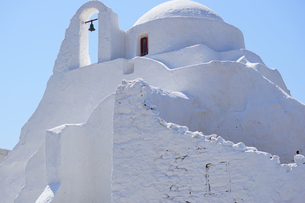 ミコノス島 パラポルティアニ教会の写真素材 [FYI03056597]