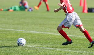 サッカー フットボールの写真素材 [FYI03056784]
