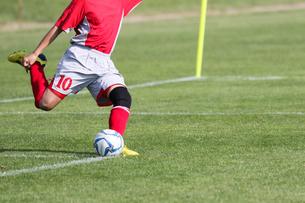 サッカー フットボールの写真素材 [FYI03056852]