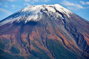 富士ヶ嶺から見た富士山の写真素材 [FYI03056942]