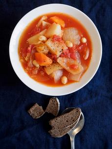 トマトスープの写真素材 [FYI03057013]