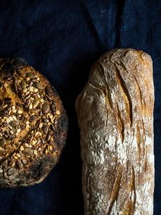 ハード系パンの写真素材 [FYI03057030]