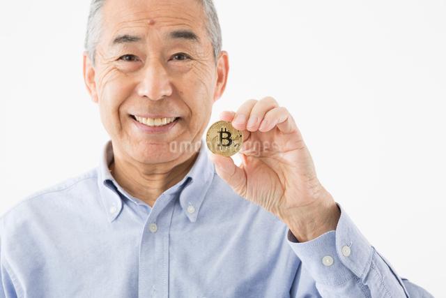 ビットコインイメージの写真素材 [FYI03057582]