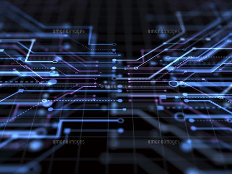 回路図の写真素材 [FYI03057641]
