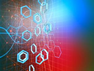 化学式回路図の写真素材 [FYI03057643]
