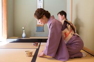 京都「和文化体験」の写真素材 [FYI03057750]
