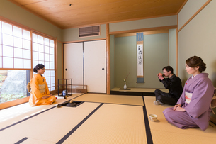 京都「和文化体験」の写真素材 [FYI03057751]