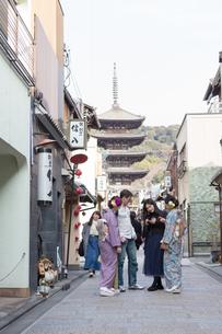 京都「和文化体験」の写真素材 [FYI03057823]