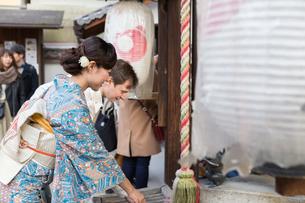 京都「和文化体験」の写真素材 [FYI03057860]