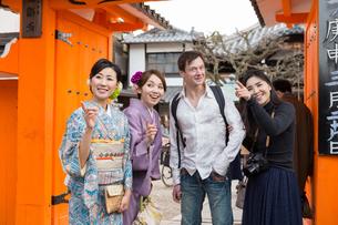 京都「和文化体験」の写真素材 [FYI03057864]