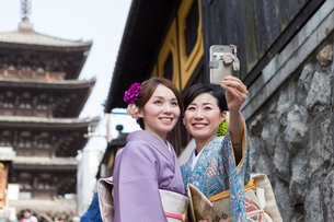 京都「和文化体験」の写真素材 [FYI03057996]