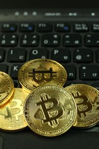 ビットコインの写真素材 [FYI03058136]