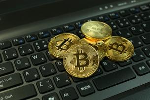 ビットコインの写真素材 [FYI03058138]