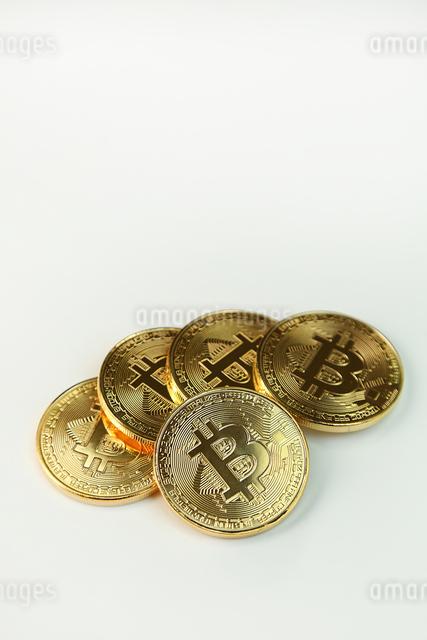 ビットコインの写真素材 [FYI03058139]