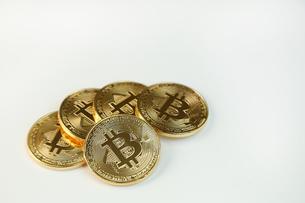 ビットコインの写真素材 [FYI03058142]