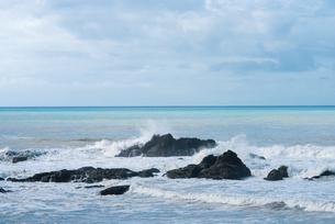 台風が近づく太平洋の写真素材 [FYI03058339]