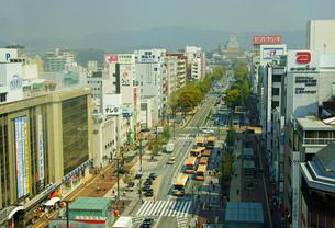 姫路駅前の街並みの写真素材 [FYI03058364]
