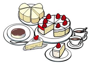 ケーキのイラスト素材 [FYI03058722]
