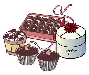 チョコレートのイラスト素材 [FYI03058729]