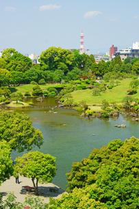 春の水前寺成趣園の写真素材 [FYI03059359]