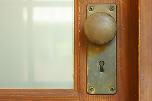鍵穴の写真素材 [FYI03059364]