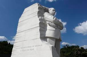 Martin Luther King Jr. Memorial, The Washington Mallの写真素材 [FYI03059747]