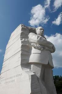 Martin Luther King Jr. Memorial, The Washington Mallの写真素材 [FYI03059749]