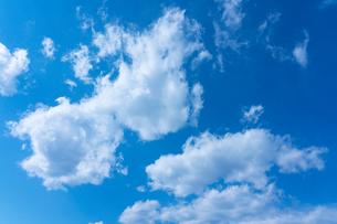 青空と雲の写真素材 [FYI03059779]
