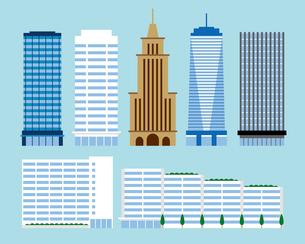 高層ビル、マンションのイラスト素材 [FYI03060167]