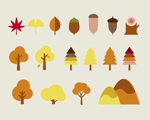 秋の自然のイラスト素材 [FYI03060189]