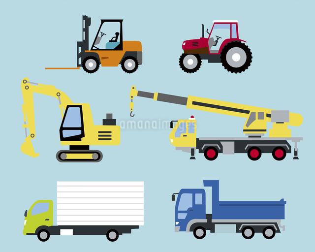 工業や産業の車のイラスト素材 [FYI03060200]