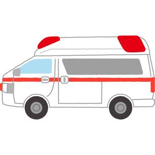 救急車のイラスト素材 [FYI03060574]
