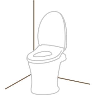 トイレの便器のイラスト素材 [FYI03060577]