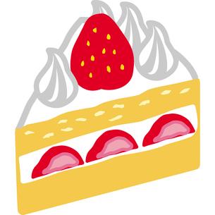 ショートケーキのイラストのイラスト素材 [FYI03060580]