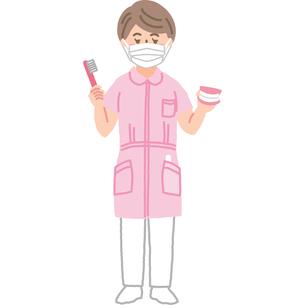 歯科衛生士さんのイラスト素材 [FYI03060718]