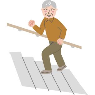 元気な高齢男性のイラスト素材 [FYI03060740]
