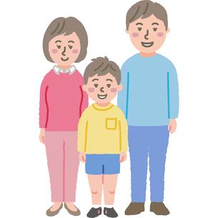 家族のイラストのイラスト素材 [FYI03060744]