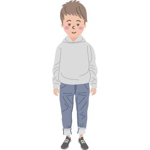 男の子のイラストのイラスト素材 [FYI03060764]