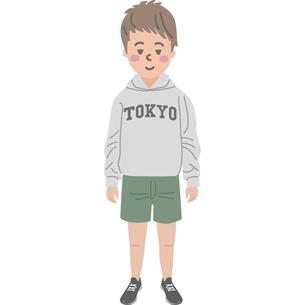 男の子のイラストのイラスト素材 [FYI03060774]