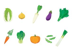 野菜のイラスト素材 [FYI03060978]