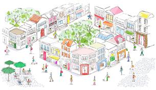 街のイラスト素材 [FYI03061032]
